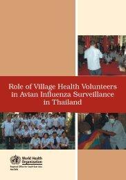 Role of Village Health Volunteers in Avian Influenza Surveillance in ...