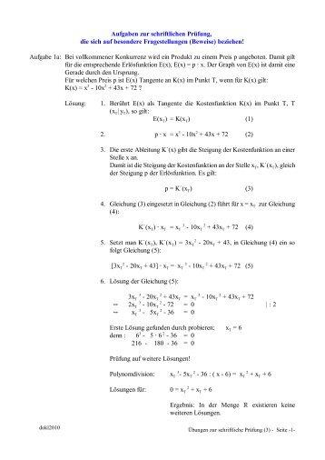 Aufgaben - Teil 3 - Aj-dons.de