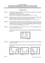 Extremwertaufgaben, die mit Hilfe der Scheitelpunktform - Aj-dons.de
