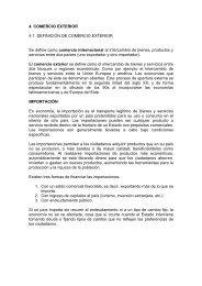4. COMERCIO EXTERIOR - cursos o no. AIU