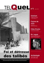 TelQuel n°1 - Contrechamps