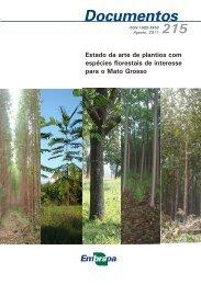 Estado da arte de plantios com espécies florestais ... - Ainfo - Embrapa