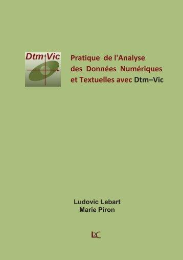 Pratique de l'analyse des données numériques et textuelles ... - IRD