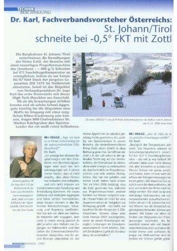 Die Snowwhite von Zottl - Snow+Promotion