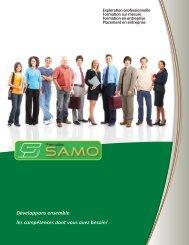 Développons ensemble les compétences dont ... - Formation SAMO