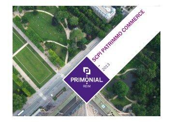 Janvier 2013 - Primonial Services