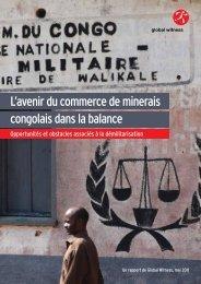 L'avenir du commerce de minerais congolais dans ... - Global Witness