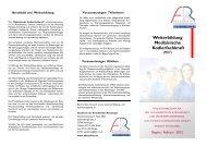 Weiterbildung Medizinische Kodierfachkraft - Akademie der ...