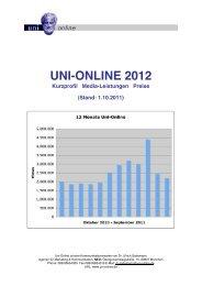 UNI-ONLINE 2012