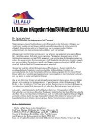 Der Herbst wird bunt. Das NEUE LILALU ... - Uni-Online