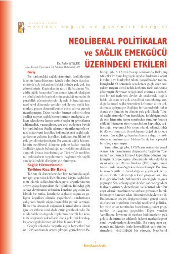 MSG dergi sayi 41.indd - Akademik Personel Bilgi Bankası - Kocaeli ...