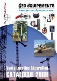 Station totale de Précision - geo equipements