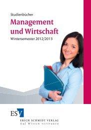 Management und Wirtschaft - Uni-Online