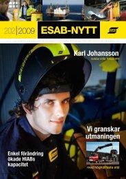 esab-nytt 202 2009