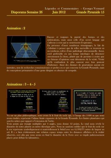 Diaporama Semaine 26 Juin 2012 Grande Pyramide 15 - Horizon 444