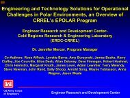 Engineering and Technology Solutions for ... - PolarPower.org