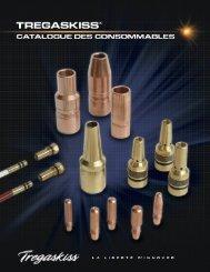 Tregaskiss Catalogue des Consommables B400-F