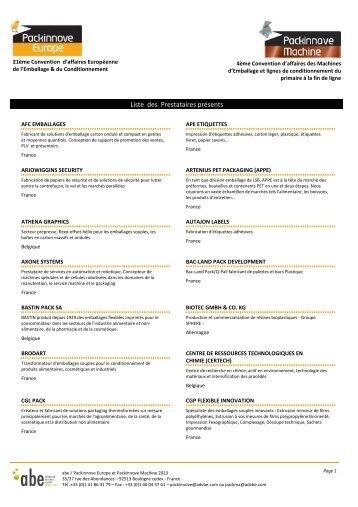 LISTES - 1 Liste pdf ven