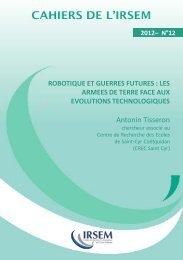 Cahier 12 - 2012.pdf - Ministère de la Défense