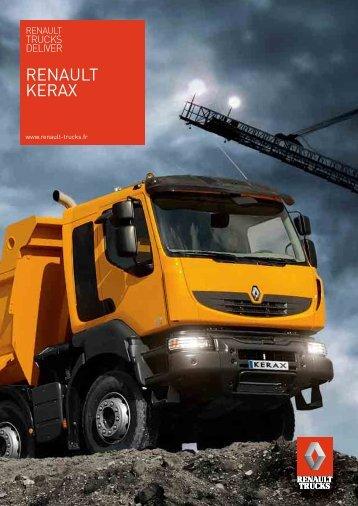 Brochure Renault Kerax (PDF)