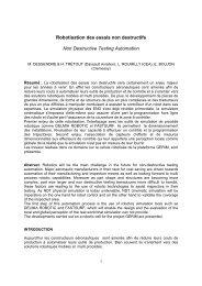 Les méthodes de programmation par apprentissage consistent à ...