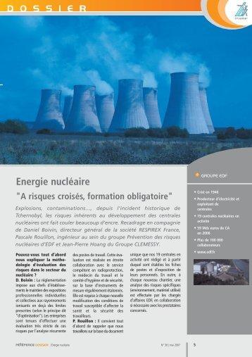 Energie nucléaire - Synamap
