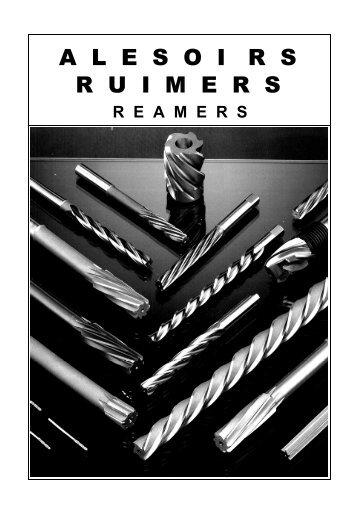 hand & machine reamers - TME