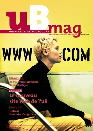 Télécharger uBmag 07 - Université de Bourgogne
