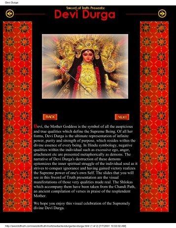 Devi Durga - Al-Qiyamah