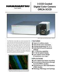 3 CCD Cooled Digital Color Camera ORCA-3CCD