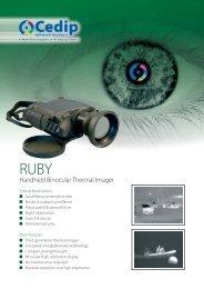 Handheld Binocular Thermal Imager
