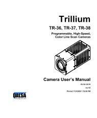 TR-33 TR-34 TR-35 Trillium Rhino User's Manual