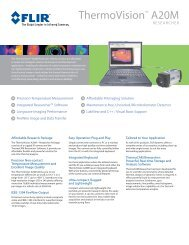 ThermoVision A20M + Researcher - Alacron, Inc.