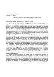 Norma Barbosa Novaes FAFIBE - Associação de Leitura do Brasil