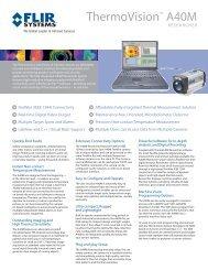 ThermoVision A40M Researcher - Alacron, Inc.