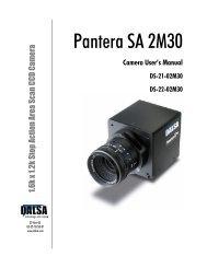 Pantera SA 2M30 - Alacron, Inc.