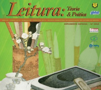 Artigos do 18° COLE publicados na revista LTP - 1ª parte