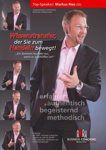 Business COACHING Details jetzt ansehen! - Riesling-Marketing.de