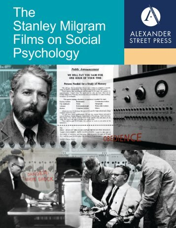 Download Brochure PDF - Alexander Street Press