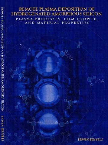 plasma processes, film growth, and material properties - Technische ...