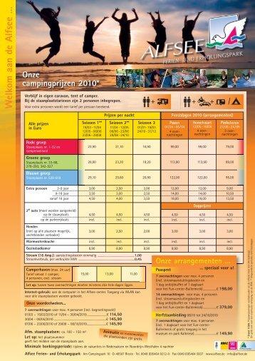 U kunt hier de gehele evenementenkalender voor 2011 ... - Alfsee