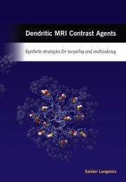 Dendritic MRI contrast agents - Technische Universiteit Eindhoven
