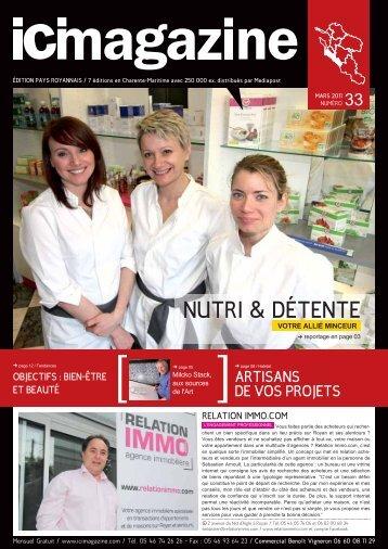 NUTRI & DÉTENTE 33 - ICI Magazine