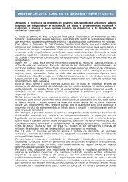 Decreto-Lei 76-A/2006, de 29 de Março - Portal das Finanças
