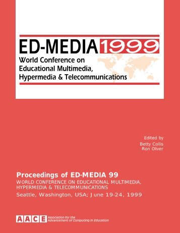 ED-MEDIA 1999 Proceedings Table of Contents