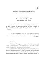 PRINCÍPIOS DO DIREITO REGISTRAL IMOBILIÁRIO