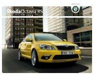 Škoda Octavia RS Catalogue 2010 - pdf - AllCarCentral.com