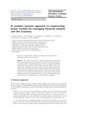 A complex systems approach to constructing better models for ...