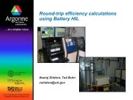 Round-trip efficiency calculations using Battery HIL - AllCarCentral ...
