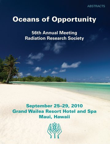 2010 Abstracts - Radiation Research Society
